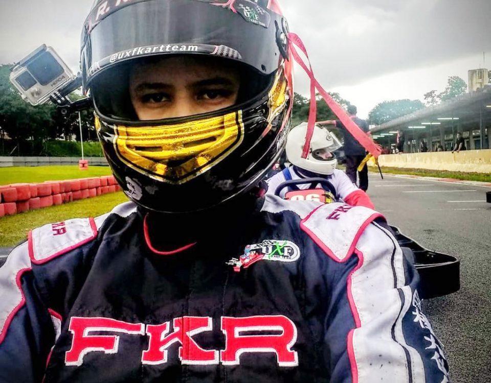 Ryan alinhado no Kartódromo de Interlagos_imagem_divulgação